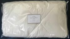Pottery Barn Linen Silk Comforter Quilt Ivory Full/Queen F/Q NEW SOLD OUT @PB!