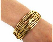 Bracelet for Women Gold Leather Wrap