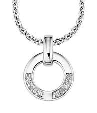 s.Oliver SO596/01 Damen Halskette Collier 925 Silber mit weißen Steinen neu