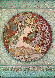 Alphonse Mucha - A3 size 29.7x42cm QUALITY Decor Canvas Print Poster Unframed