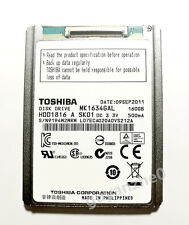 1.8'' Toshiba 160GB MK1634GAL ZIF Hard Disk Drive For Apple iPod 7th Gen Classic