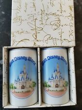 Walt Disney world Japan vintage Salt and pepper shakers, boxed new