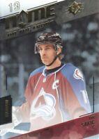 2015-16 SPx Hockey #94 Joe Sakic NOF Colorado Avalanche
