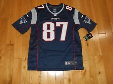 Nike ROB GRONKOWSKI GRONK NEW ENGLAND PATRIOTS Mens NFL Team Stitched JERSEY Med