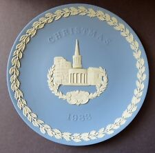 Wedgwood Jasperware 1983 Christmas Plate: All Souls London