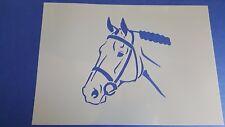 Schablonen 704 Pferd Wandtattoos Vintage- Look Stanzschablonen Shabby Stencil