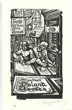 EXLIBRIS,184,Nagy Lazar Laszlo - Gutenberg