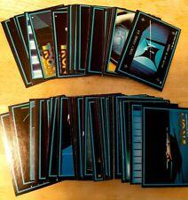 1981 Donruss Tron Complete Card Set #1-66 Disney Nm