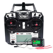 Flysky FS-TM10 2.4G 10CH RC Transmitter & Receiver for FPV Drone Fixed-wing