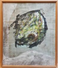 Abstract, Approaching Spring. Original Oil by listed USA artist Ed Whiteman 1960