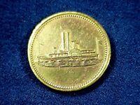1870 Durfee & Peck POST TRADER - DAKOTA & MONTANA TERRITORY Token - 50 Cents