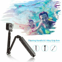 TELESIN 3-Way Buoyancy rod Floating Selfie Stick Tripod for GoPro Action Camera