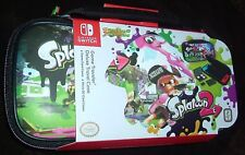 Nintendo Switch Splatoon 2 Deluxe Console Travel Case Bag Free UK p&p UK SELLER