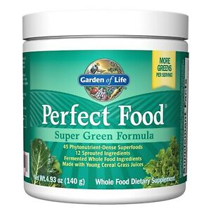 Garden of Life Whole Food Vegetable Supplement - Perfect Food Green Superfood...