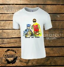 ONLY FOOLS AND HORSES BATMAN AND ROBIN T-SHIRT (ALL SIZES AVAILABLE)