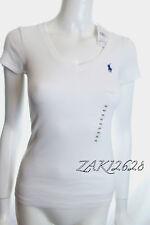 BNWT RALPH LAUREN WOMEN PERFECT TEE BASIC V-NECK SPORT T-SHIRT SIZE XL RRP £45