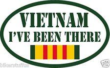 VIETNAM I'VE BEEN THERE BUMPER STICKER