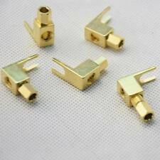 New 50pcs Spade Banana Plug Copper #B Mcintosh Amp Eico Tube Adapter Gold Plated