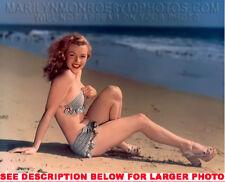 MARILYN MONROE 1948 BEACH BEAUTY (1) RARE 8x10 PHOTO