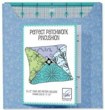 """6-1/2"""" Ruler with Perfect Patchwork Pincushion Project Card"""
