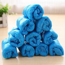 100PZ Copriscarpe Copriscarpa Elasticità Monouso Shoes Covers Blu