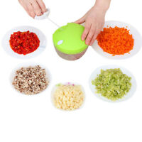 Kitchen Spiral Slicer Meat Vegetable Fruit Chopper Crusher Shredder Salad Cutter