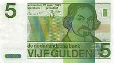 Netherlands  5  Gulden  28.3.1973  P 95a  Circulated Banknote LA10
