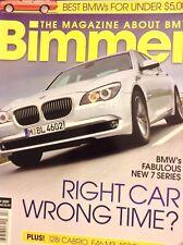 Bimmer Magazine BMW's New 7 Series February 2009 031318nonrh