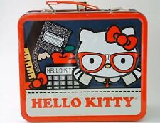 Collectible Hello Kitty Lunchbox, Metal, Rare Vintage