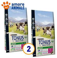 2 SACCHI - Purina Tonus Adult agnello 14 kg