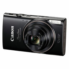 Canon PowerShot ELPH 360 HS Digital Camera with 12x Optical Zoom + Wi-Fi - Black