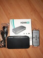HDMI Switch 4k-ZACCAS  HDMI Switch 5 in 1 Out