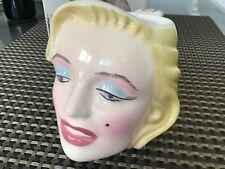 1988 Marilyn Monroe Mug Cup w/Labels  Clay Art San Francisco