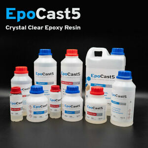 Epoxy Resin Tester Kit 150g 250g 500g 1kg Crystal Clear Casting Slow & Fast Cure