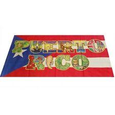 Puerto Rico Rican 30 x 60 Inchs Beach , Swimming , River Towel * Boricua Rican