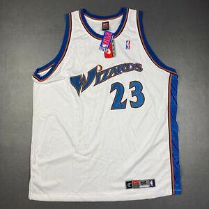 100% Authentic Michael Jordan Nike Washington Wizards Jersey Size 56 3XL Mens