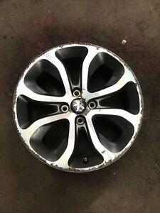 Peugeot 308 Mk1 2008-2013 17'' Inch 4 Stud 8 Spoke Alloy Wheel (4)