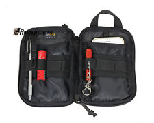 Tactical Military Cordura Waist Belt Bag Army Utility Drop Pouch Phone Pouch BK