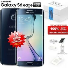 New Sealed Unlocked SAMSUNG Galaxy S6 Edge SM-G925F Black Android Mobile Phone