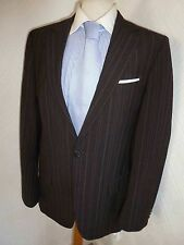 hugo boss brown winter suit hagoni red label 2 piece 36 jacket x 30 trousers