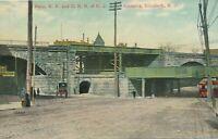ELIZABETH NJ - Pennsylvania Railroad and C.R.R. of N.J. Crossing