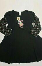 Vintage Gymboree Imaginary Friends black knit Dress girls size 4
