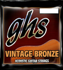 GHS Guitar Strings Acoustic Extra LIght 11-50 Vintage Bronze