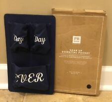 NEW Pottery Barn Teen Locker Gear Up DAY DAY EVER Essential Pockets NAVY