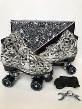 Moonlight Roller Charmer Snakeskin Moon Boot Skates Size 7 (Women's 8-8.5) Moxi
