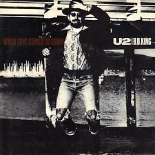 """7"""" U2 – When Love Comes To Town // UK 1989"""