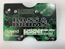 Roland SR-JV80-10 Bass & DrumsSound Expansion Board #5708