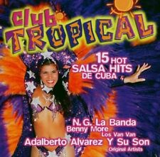 Club Tropical-15 hot Salsa Hits de Cuba (1999) 2:Los Van Van, Irakere, Or.. [CD]