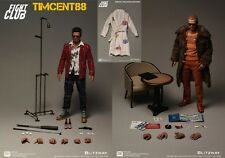 Ready! Blitzway Fight Club Tyler Durden Brad Pitt 1/6 Bathrobe Special Pack