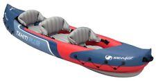 Sevylor Tahiti Plus 2 1 Man Canadian Canoe Inflatable Sea Kayak 363 X 88 Cm